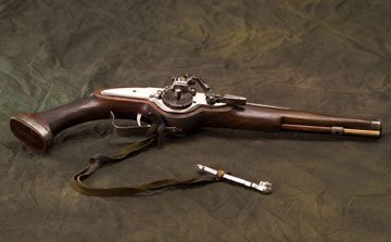 A prop gun from New Line Cinema's The New World