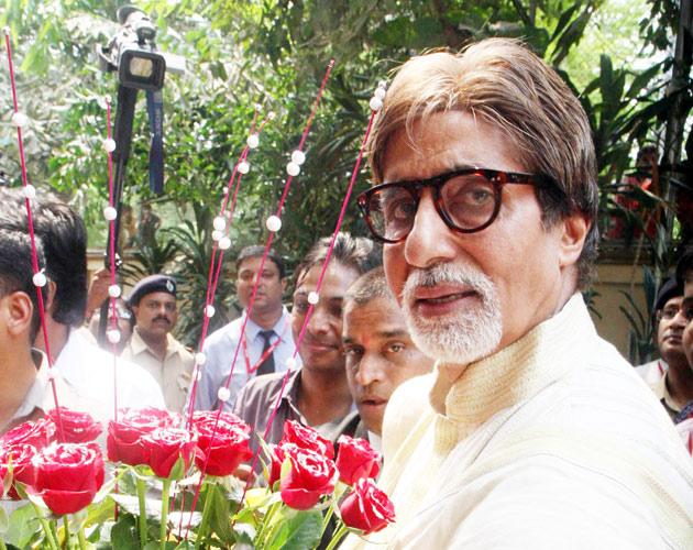Amitabh Bachchan celebrates his birthday