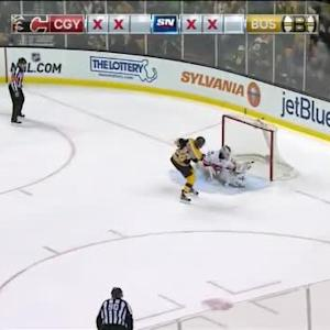 Karri Ramo Save on David Pastrnak (00:00/SO)