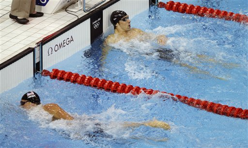 Column: This was a gold Phelps needed to win