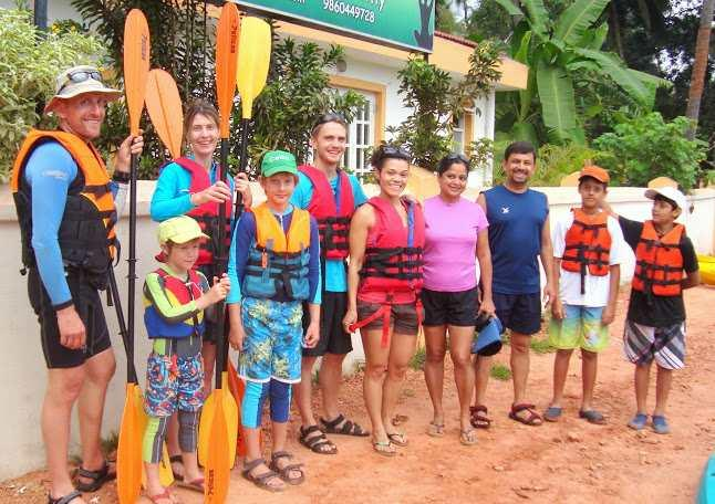 Travel Goa Kayaking