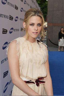 Kristen Stewart at the Los Angeles premiere of Paramount Vantage's Into the Wild