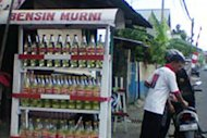 Harga Bensin Eceran di Kupang Rp25 Ribu/Liter