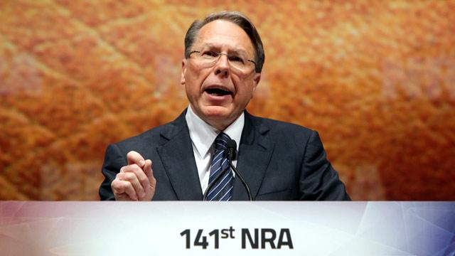 NRA Chief LaPierre: 'Call Me Crazy'