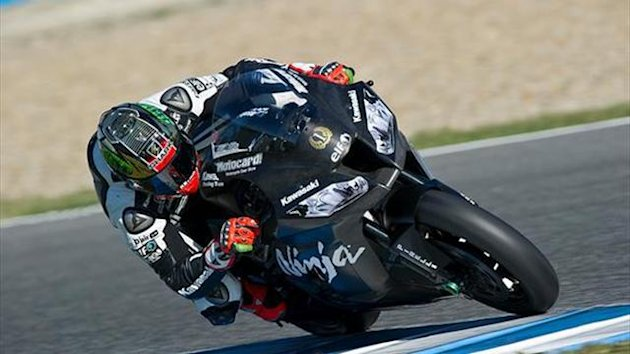 Sykes a second faster than qualifying at Jerez WSBK test