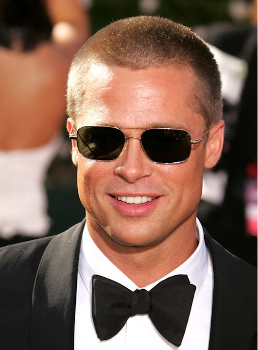 Brad Pitt at The 56th Annual Primetime Emmy Awards.