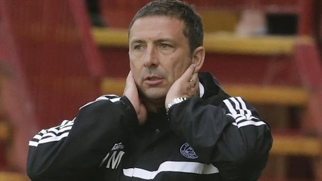 Derek McInnes was not happy with Aberdeen's display against Ross County