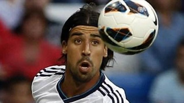 Khedira happy in the shadows