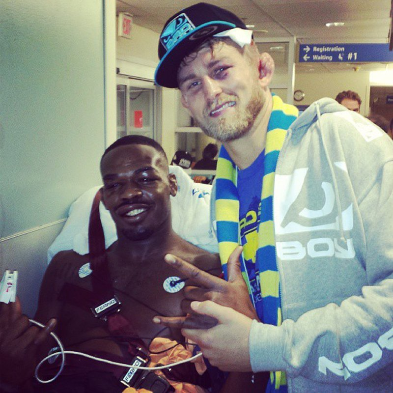 jon jones alexander gustafsson ufc hospital