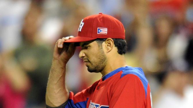 Baseball: World Baseball Classic-Puerto Rico at United States