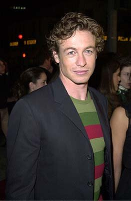 Simon Baker at the Mann's Village Theater premiere of Warner Brothers' Red Planet