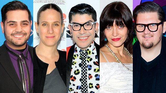 &lt;p&gt;Michael Costello, Kara Janx, Mondo, Elisa Jimenez, and Jay McCarroll&lt;/p&gt;