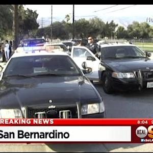 Police Surround Shooting Suspect In San Bernadino After He Allegedly Fired On Kids Waiting For Ice Cream