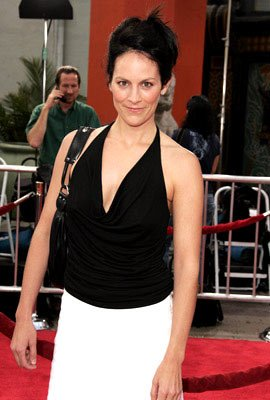 Premiere: Annabeth Gish at the Hollywood premiere of Dreamworks' Anchorman - 6/28/2004