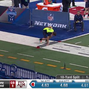 2014 Combine workout: Johnny Manziel