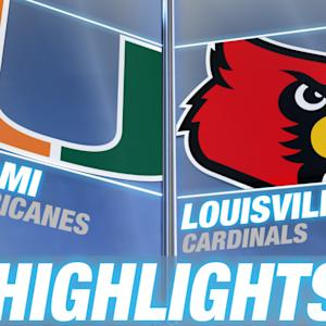 Miami vs Louisville | 2014-15 ACC Women's Basketball Highlights