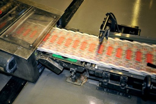 The final edition of the British tabloid newspaper News of the World rolls off the press in 2011