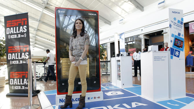 Melissa Rycroft is seen at the Nokia Experience on Tuesday, Dec. 18, 2012 in Frisco, Texas. (Photo by Brandon Wade/Invision for Nokia/AP Images)