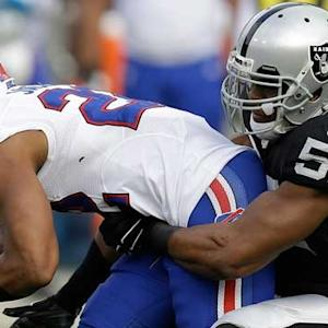 'Sound FX': Oakland Raiders linebacker Khalil Mack attacks Buffalo Bills