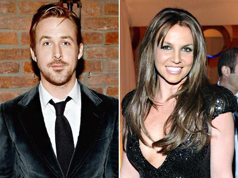 "Ryan Gosling: Britney Spears and I Played ""Spin the Bottle"" Together"
