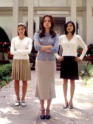 Marisa Parker , Marisa Coughlan and Michelle Krusiec in United Artists' Pumpkin
