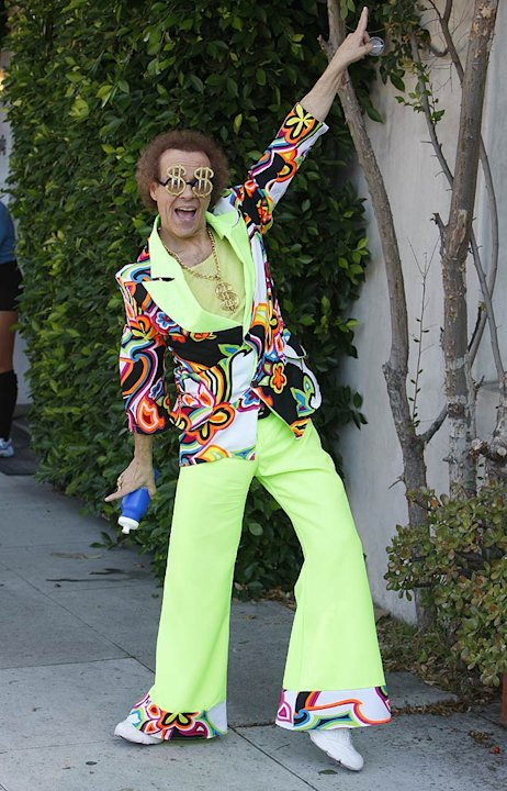 Richard Simmons Leaves Aerobics Studio