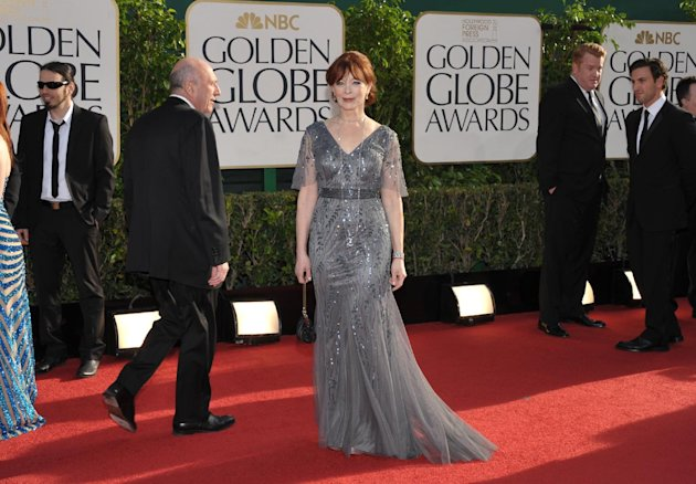 Frances Fisher arrives at …