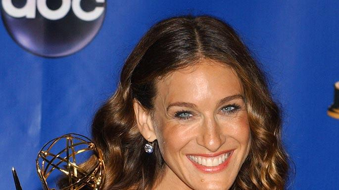 "Sarah Jessica Parker, winner of Outstanding Lead Actress in a Comedy Series for ""Sex and the City"" at The 56th Annual Primetime Emmy Awards."