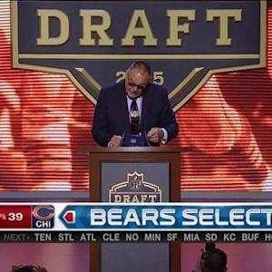 Chicago Bears pick defensive tackle Eddie Goldman No. 39 in 2015 NFL Draft