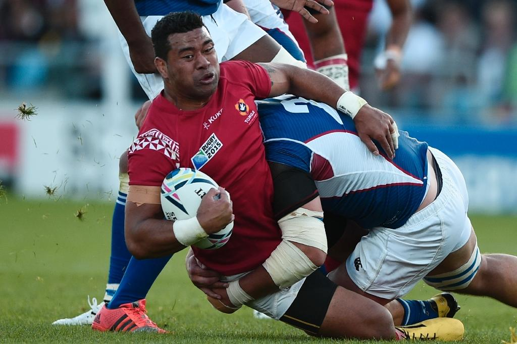 Tonga's old wolves vow World Cup fight with Puma cubs