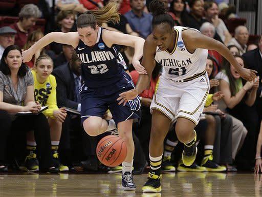 Michigan beats Villanova, moves on in NCAA tourney