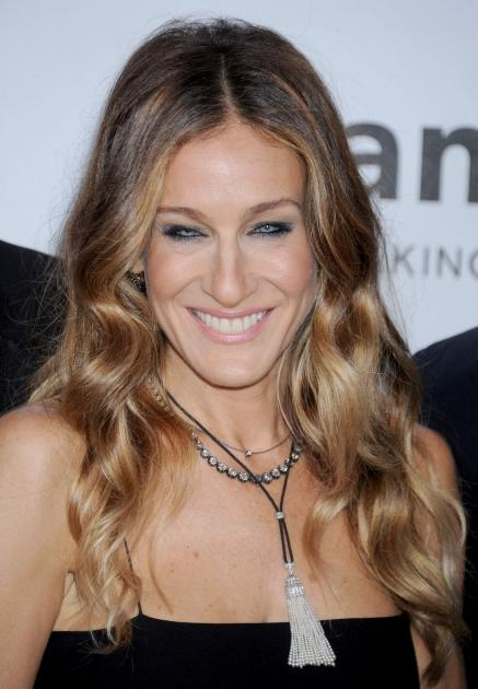 Sarah Jessica Parker arrives at amfAR's 3rd Annual Inspiration Gala at Milk Studios on October 11, 2012 in Los Angeles -- Getty Images