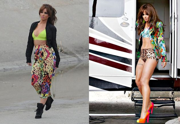 Cheryl Cole Works The Print Clash For Her New Music Video - Get The Look!