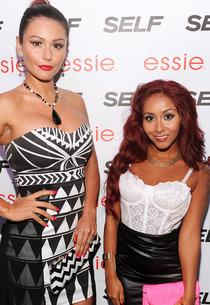 "Jenni ""JWoww"" Farley; Nicole ""Snooki"" Polizzi 