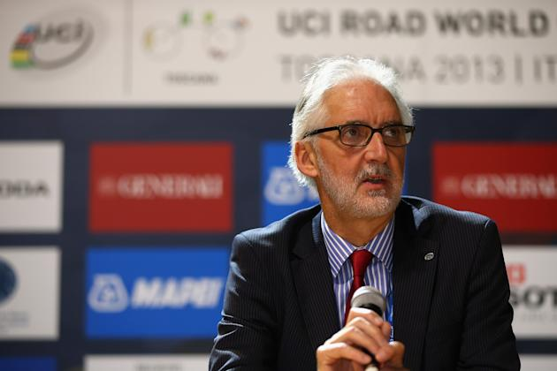 UCI President Brian Cookson OBE Press Conference
