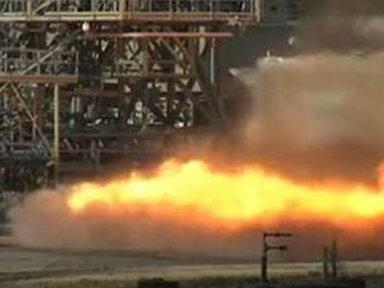 NASA Tests Vintage Rocket Engine
