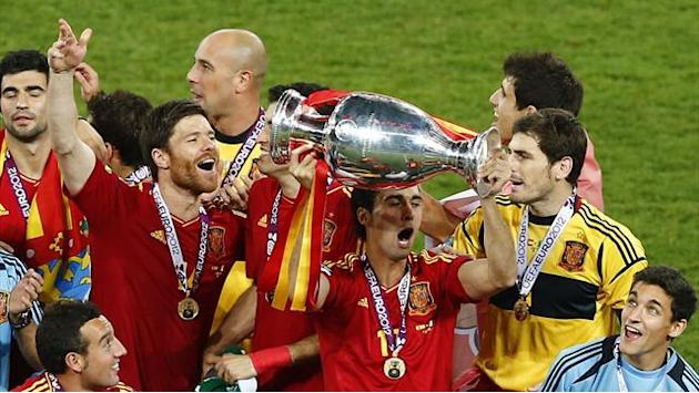 Euro 2016 - Spain face Ukraine and Slovakia in qualifying