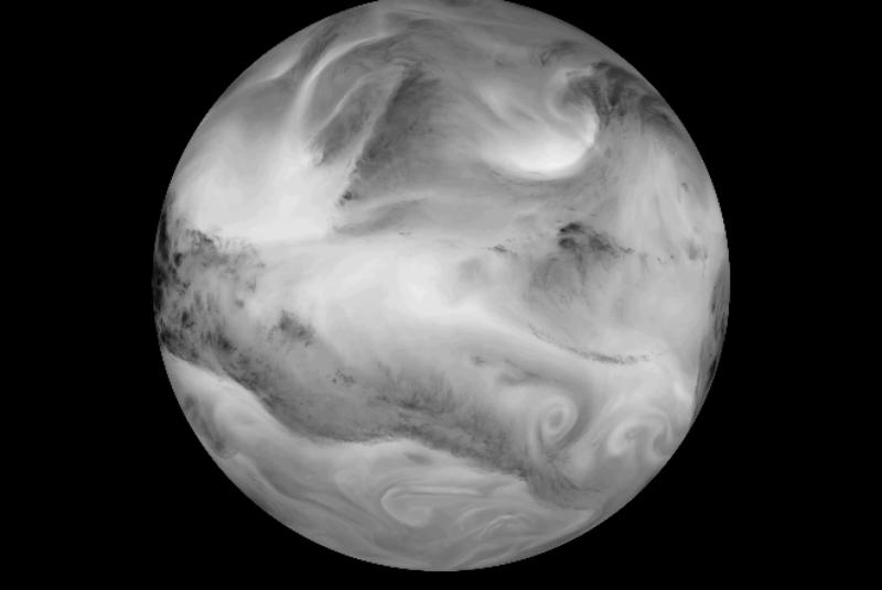 Watch a captivating timelapse of the Earth in infrared light
