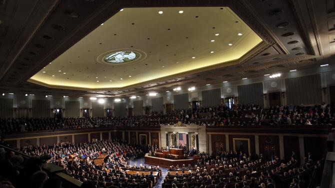 Israeli Prime Minister Netanyahu addresses joint meeting of Congress on Capitol Hill in Washington