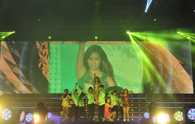 Wondergirl's Yenny showed sass and powerful vocals(Photo courtesy of Parallel Smart Media Asia Alpha Entertainment)