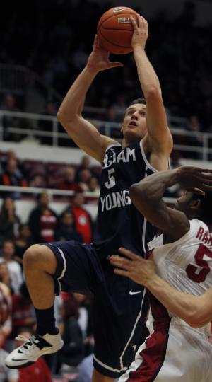 Hot-shooting BYU beats Stanford, 112-103
