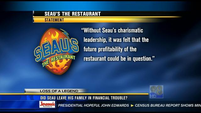 Did Junior Seau leave his family in financial trouble?