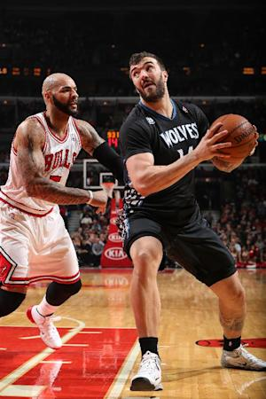 Pekovic out of boot, but no sign yet of return