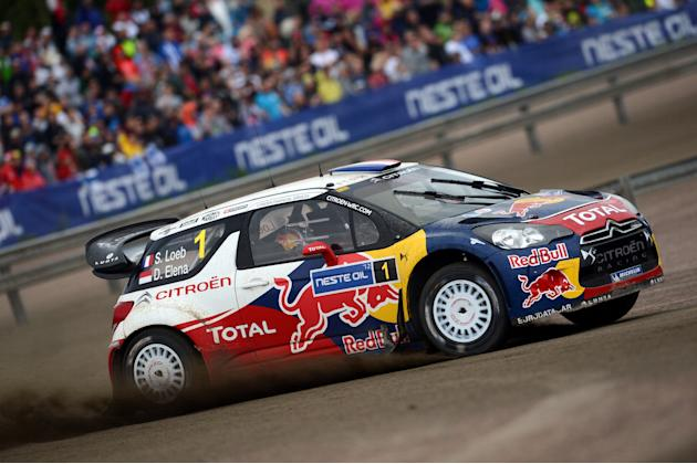 FIA World Rally Championship Finland - Day2