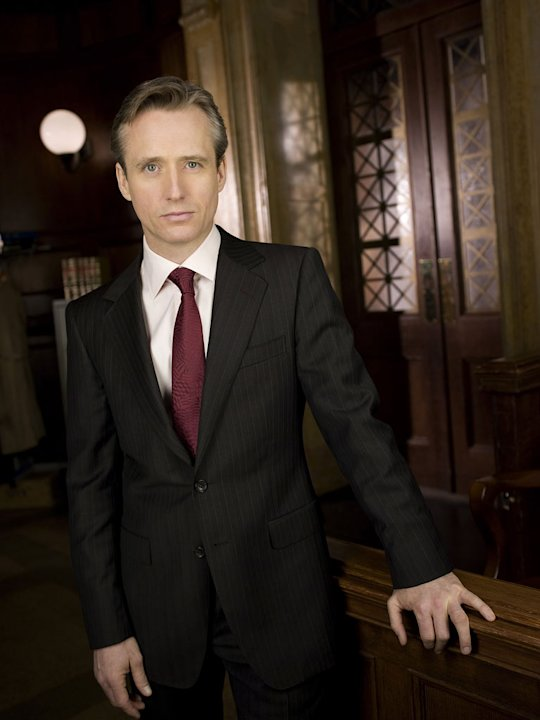 "Linus Roache as Michael Cutter on ""Law & Order."""