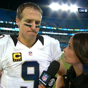 New Orleans Saints quarterback Drew Brees: We overcame early adversity