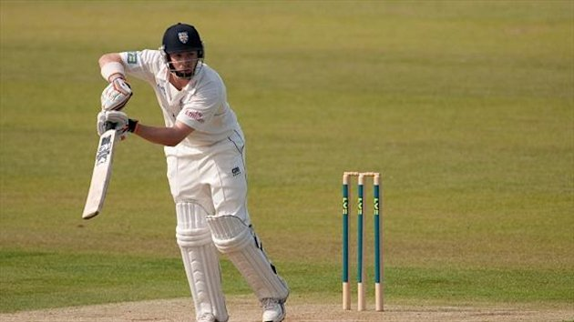 Mark Stoneman led Durham's fightback with a half-century