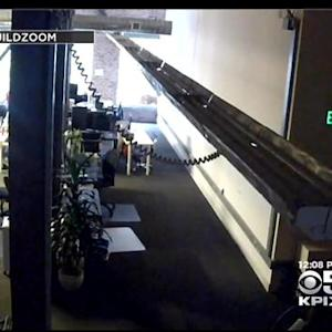 Video Surveillance Shows Break In At San Francisco Startup