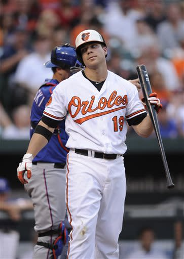 Kinsler has 4 RBIs as Rangers beat Orioles 8-5