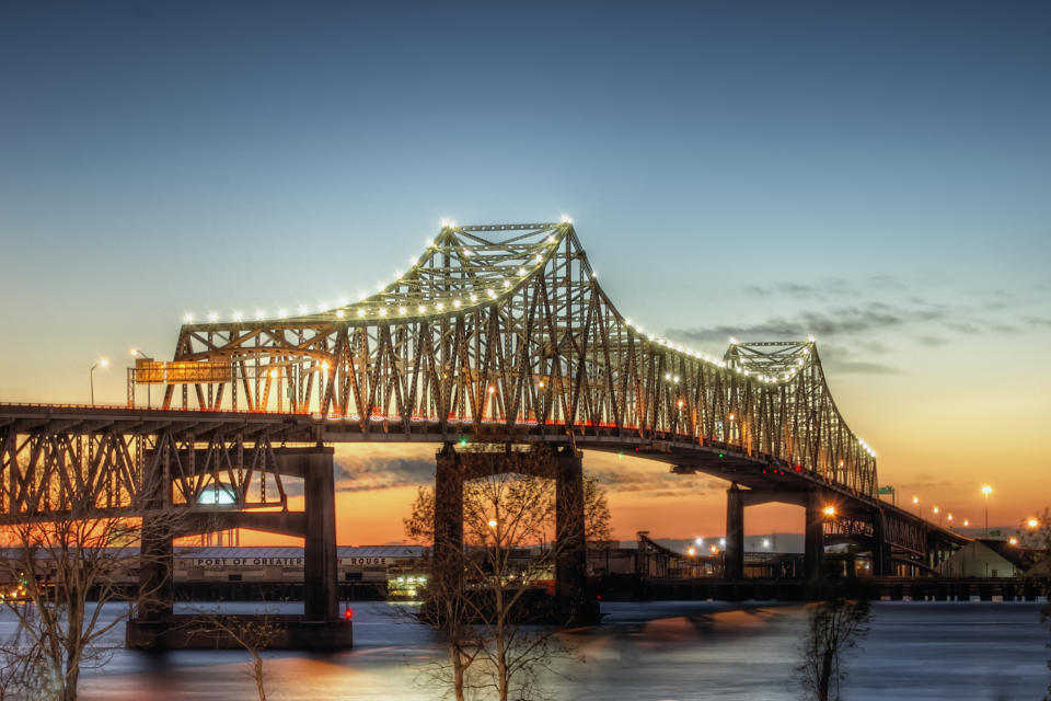 Mississippi River Bridge - Baton Rouge
